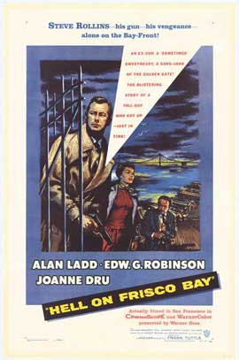 Hell on Frisco Bay - 27 x 40 Movie Poster - Style A