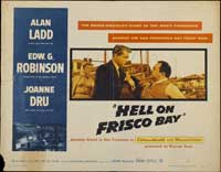 Hell on Frisco Bay - 11 x 17 Movie Poster - Style B