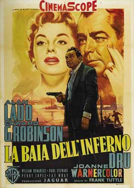 Hell on Frisco Bay - 11 x 17 Movie Poster - Italian Style A