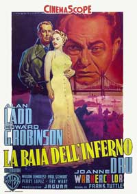 Hell on Frisco Bay - 11 x 17 Movie Poster - Italian Style B