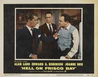 Hell on Frisco Bay - 11 x 14 Movie Poster - Style A