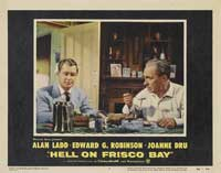 Hell on Frisco Bay - 11 x 14 Movie Poster - Style B