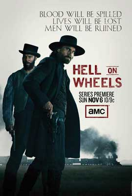 Hell on Wheels (TV) - 27 x 40 TV Poster - Style A