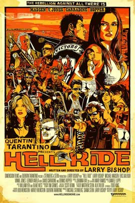 Hell Ride - 11 x 17 Movie Poster - Style A