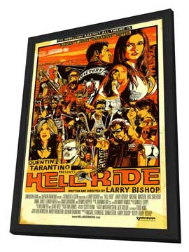 Hell Ride - 27 x 40 Movie Poster - Style A - in Deluxe Wood Frame