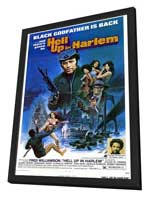 Hell Up in Harlem - 27 x 40 Movie Poster - Style A - in Deluxe Wood Frame