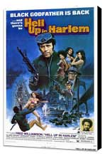 Hell Up in Harlem - 27 x 40 Movie Poster - Style A - Museum Wrapped Canvas