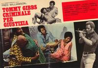 Hell Up in Harlem - 39 x 55 Movie Poster - Italian Style A