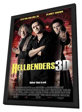 Hellbenders - 11 x 17 Movie Poster - Style A - in Deluxe Wood Frame