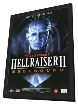 Hellbound: Hellraiser 2 - 27 x 40 Movie Poster - Dutch Style A - in Deluxe Wood Frame