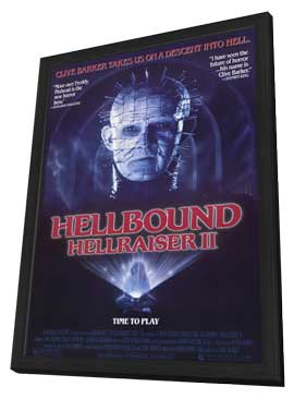 Hellbound: Hellraiser 2 - 11 x 17 Movie Poster - Style A - in Deluxe Wood Frame