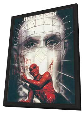 Hellbound: Hellraiser II - 11 x 17 Movie Poster - Style A - in Deluxe Wood Frame