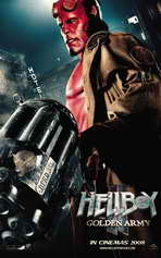 Hellboy 2: The Golden Army - 11 x 17 Movie Poster - Style J