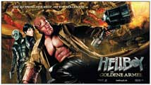 Hellboy 2: The Golden Army - 20 x 40 Movie Poster - Switzerland Style A