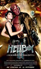 Hellboy 2: The Golden Army - 11 x 17 Movie Poster - French Style B