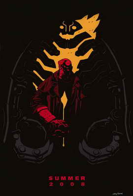 Hellboy 2: The Golden Army - 11 x 17 Movie Poster - Style A