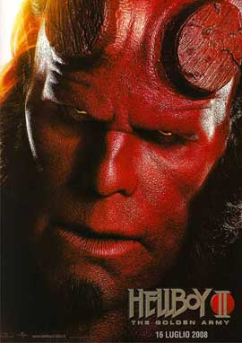Hellboy 2: The Golden Army - 11 x 17 Movie Poster - Italian Style A