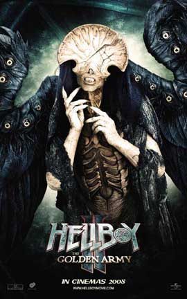 Hellboy 2: The Golden Army - 11 x 17 Movie Poster - Style C