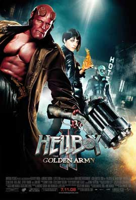 Hellboy 2: The Golden Army - 11 x 17 Movie Poster - Style D