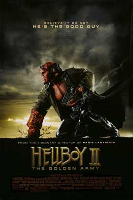 Hellboy 2: The Golden Army - 27 x 40 Movie Poster - Style D