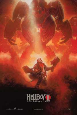 Hellboy 2: The Golden Army - 11 x 17 Movie Poster - Style F