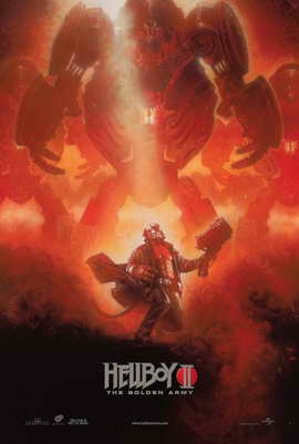 Hellboy 2: The Golden Army - 27 x 40 Movie Poster - Style E