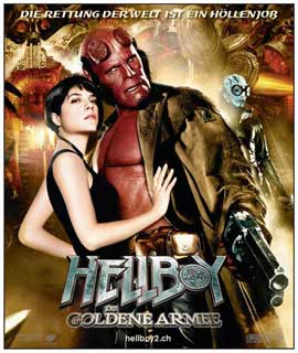 Hellboy 2: The Golden Army - 11 x 14 Poster Switzerland Style A