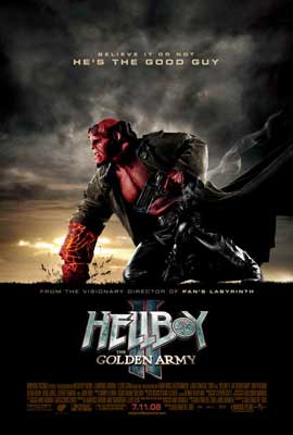 Hellboy 2: The Golden Army - 27 x 40 Movie Poster - Style F
