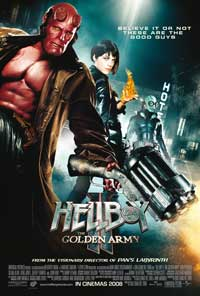 Hellboy 2: The Golden Army - 43 x 62 Movie Poster - Bus Shelter Style D