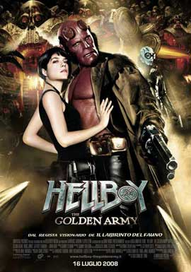 Hellboy 2: The Golden Army - 27 x 40 Movie Poster - Italian Style E