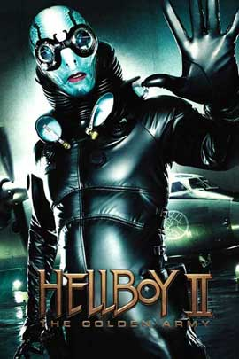 Hellboy 2: The Golden Army - 11 x 17 Movie Poster - Style O