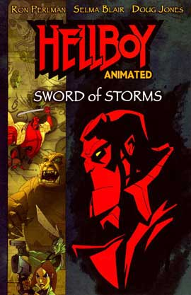 Hellboy Animated: Sword of Storms (TV) - 11 x 17 Movie Poster - Style A