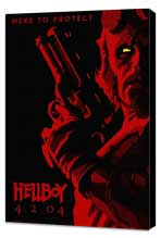 Hellboy - 27 x 40 Movie Poster - Style A - Museum Wrapped Canvas
