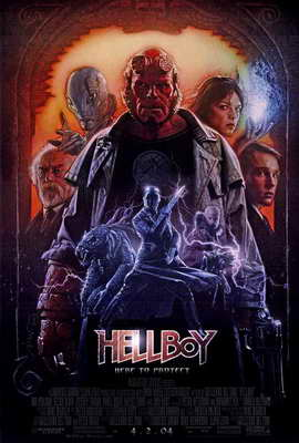 Hellboy - 27 x 40 Movie Poster - Style B