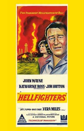 Hellfighters - 11 x 17 Movie Poster - Australian Style A