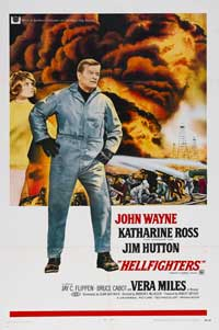 Hellfighters - 43 x 62 Movie Poster - Bus Shelter Style A