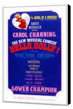 Hello Dolly (Broadway) - 14 x 22 Poster - Style A - Museum Wrapped Canvas