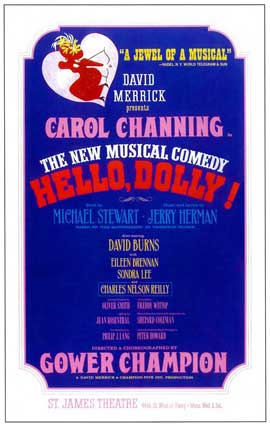 Hello Dolly (Broadway) - 14 x 22 Poster - Style A