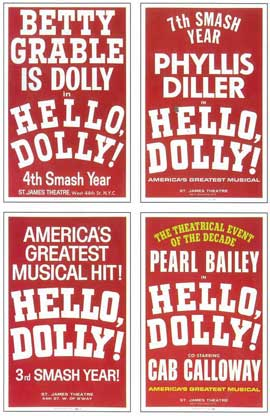 Hello Dolly (Broadway) - 14 x 22 Poster - Style B