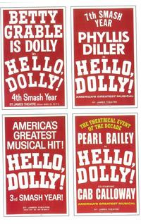 Hello Dolly (Broadway) - 11 x 17 Poster - Style A
