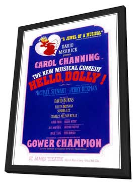 Hello Dolly (Broadway) - 14 x 22 Poster - Style A - in Deluxe Wood Frame