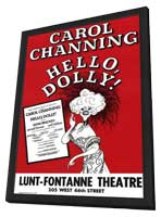 Hello Dolly (Broadway) - 11 x 17 Poster - Style A - in Deluxe Wood Frame
