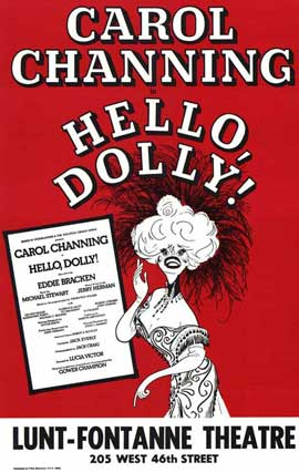 Hello Dolly (Broadway) - 27 x 40 Poster - Style A