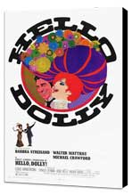 Hello, Dolly! - 11 x 17 Movie Poster - Style C - Museum Wrapped Canvas