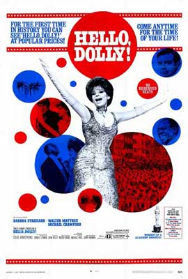 Hello, Dolly! - 27 x 40 Movie Poster - Style A