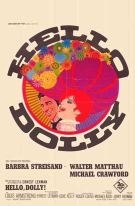 Hello, Dolly! - 11 x 17 Movie Poster - Belgian Style A