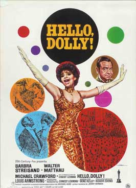 Hello, Dolly! - 27 x 40 Movie Poster - Spanish Style A