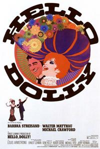 Hello, Dolly! - 11 x 17 Movie Poster - Style B - Museum Wrapped Canvas