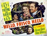 Hello Frisco, Hello - 22 x 28 Movie Poster - Half Sheet Style A