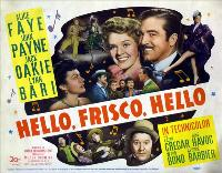 Hello, Frisco, Hello - 30 x 40 Movie Poster UK - Style A